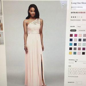 Davids bridal petal bridesmaid dress